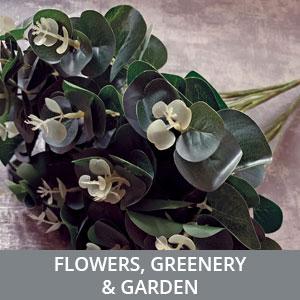Flowers, Greenery & Garden
