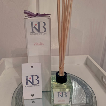 Natural Vegetable Base Rattan Reed Diffuser - Lime, Basil & Mandarin